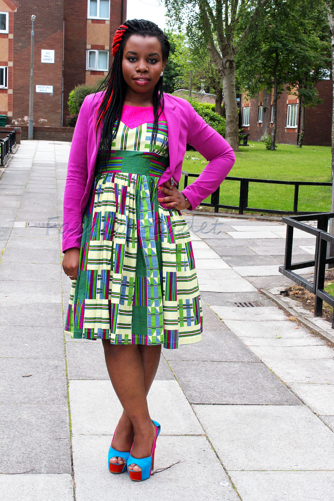 african print dresses for wedding, african print office dresses