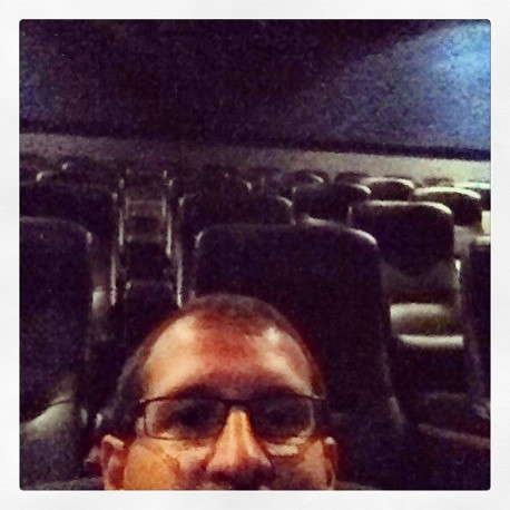 Alone at the movies