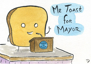 Mr Toast For Mayor