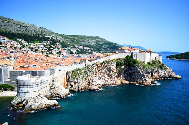 Classic Dubrovnic Old Town, Croatia