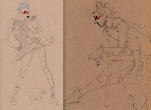 Dr Sketchy's : Sketches
