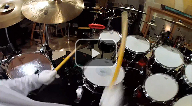 GoPro: Dave Matthews Band's Carter Beauford Drum Solo.