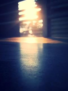 Un suave rayo de luz...
