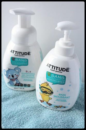 ATTITUDE tout-petits bain moussant