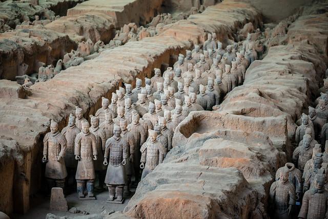 兵马俑 (Terracotta Army)
