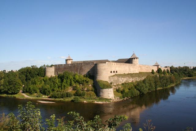 Fortaleza de Ivangorod, Ivangorod (Rusia). © Paco Bellido, 2005