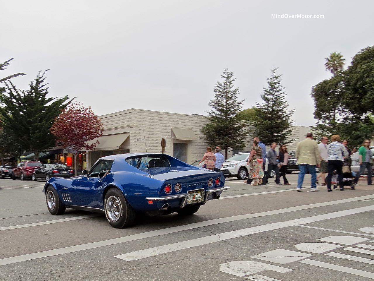 1969 Corvette Rear