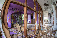 Inside an abandoned house in Murrieta