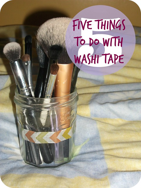 Five Things To Do With Washi Tape