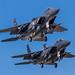 Boeing F-15E Strike Eagle  90-0237, 90-0244 by austincarlson469