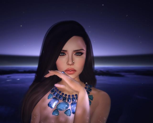 Saphire moon