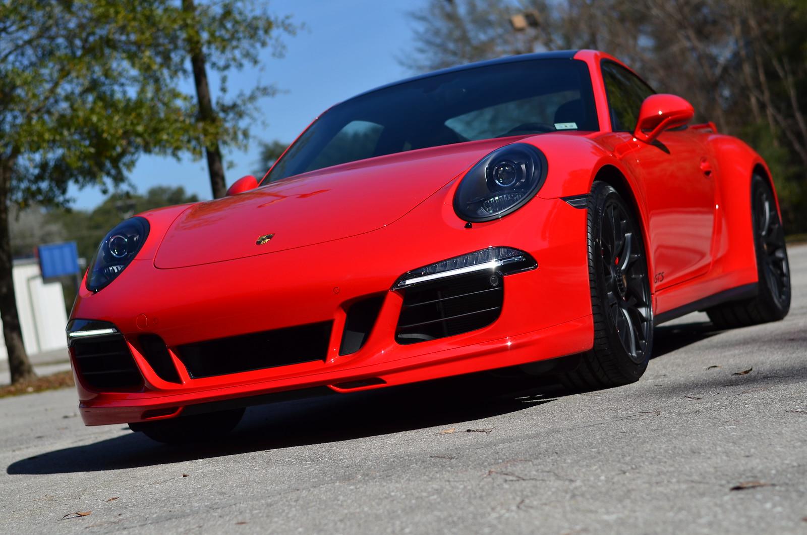 2015 911 Gts Coupe New Aerokit Cup Porsche Dealer In Fl Guards Red Rennlist Porsche