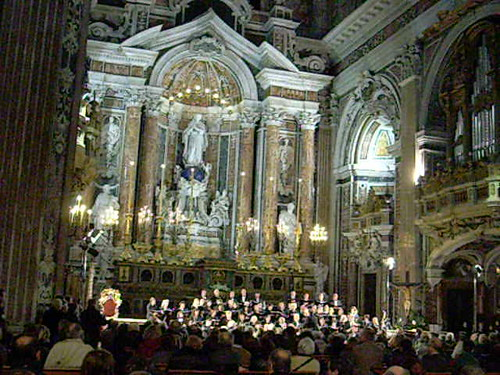 """Misa a Buenos Aires"" (1996) by Martin Palmeri - Gesù Nuovo Church in Naples"