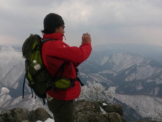 藤原岳 山頂 いち