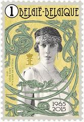 08 Reine Elisatbeth timbre 1