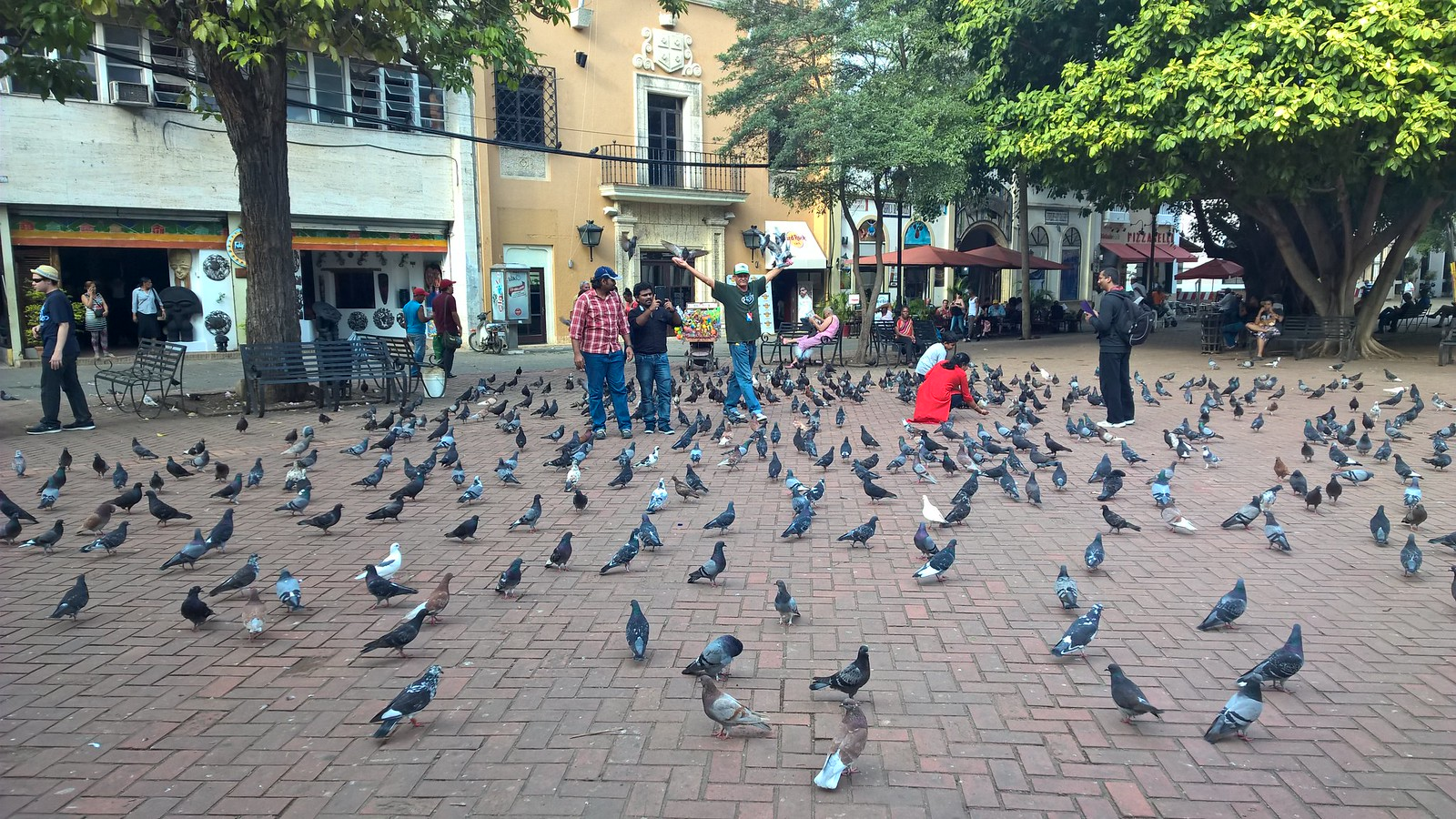 Площадь в Парке Колумба