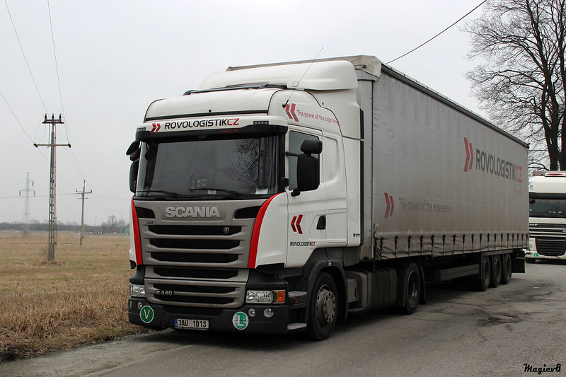 Scania R Streamline /  ROVOLOGISTIK CZ (CZ)