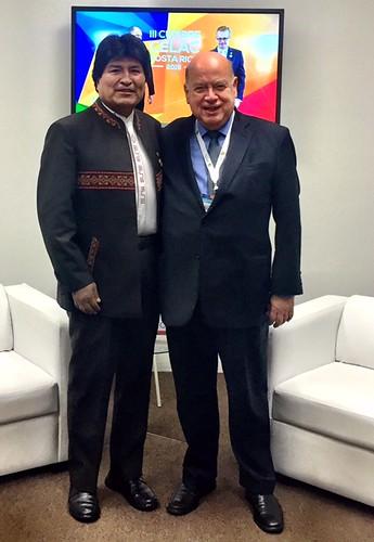 Secretario General de la OEA  mantuvo encuentros con autoridades presentes en la Cumbre de CELAC