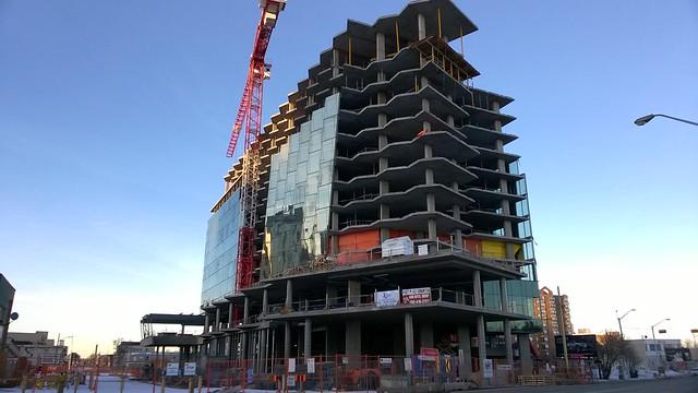 Hyatt Hotel Construction