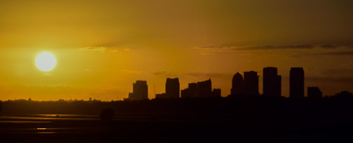 skyline america sunrise tampa cityscape florida fl fla tampafl tampaflorida tampaskyline tampasunrise tampacityscape