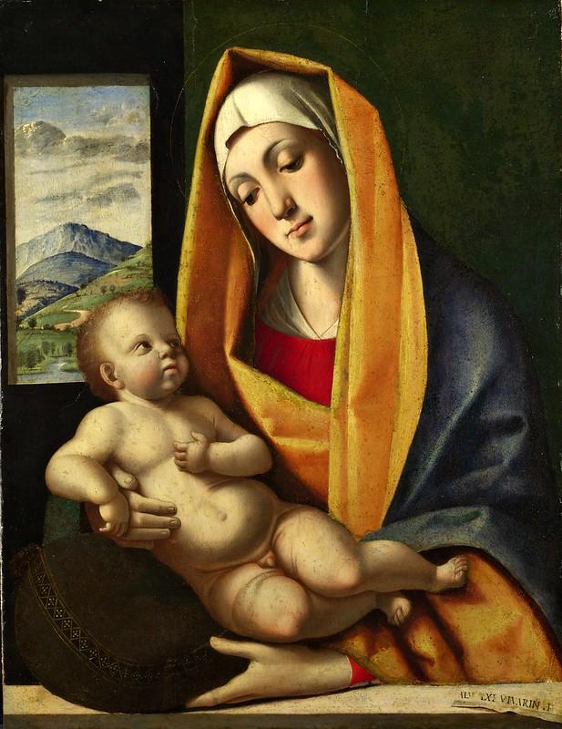 Alvise Vivarini - The Virgin and Child (c.1483)