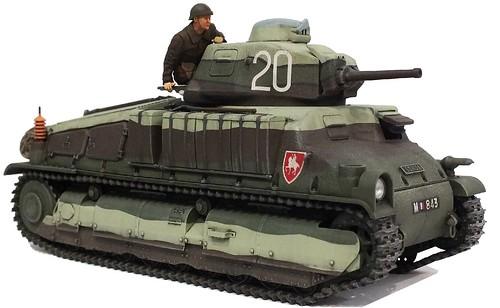 Tamiya Somua S35 french tank