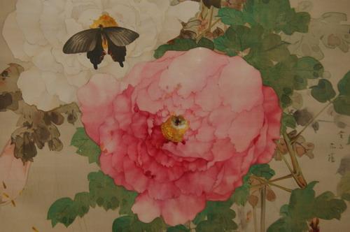 牡丹と蝶図2