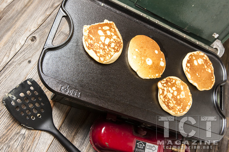 Lodge cast iron griddle - adventure insider - tct magazine