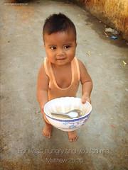 Feeding Boy (Cambodia)