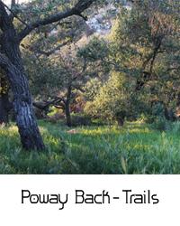 Poway back Trails