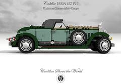 Cadillac 1930 452A V16 Rollston Convertible-Coupe