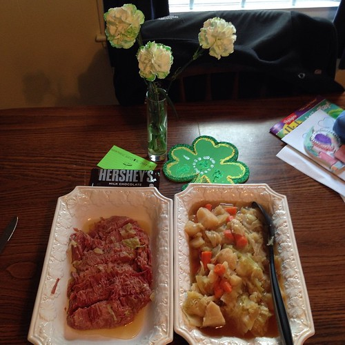 Saint Patrick's Day feast!! 🍀🍀