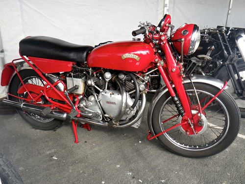 Vincent Motorcycle - Pioneer Veteran Motorcycle Run from London to Brighton 2015