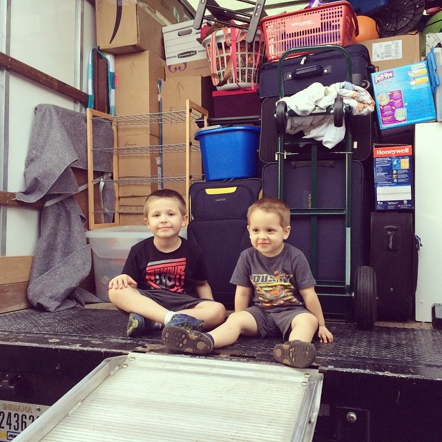 We have so much stuff!! #moving  #southflorida #igersftl #igersatl #kids #myboys #momlife #brothers #boymom