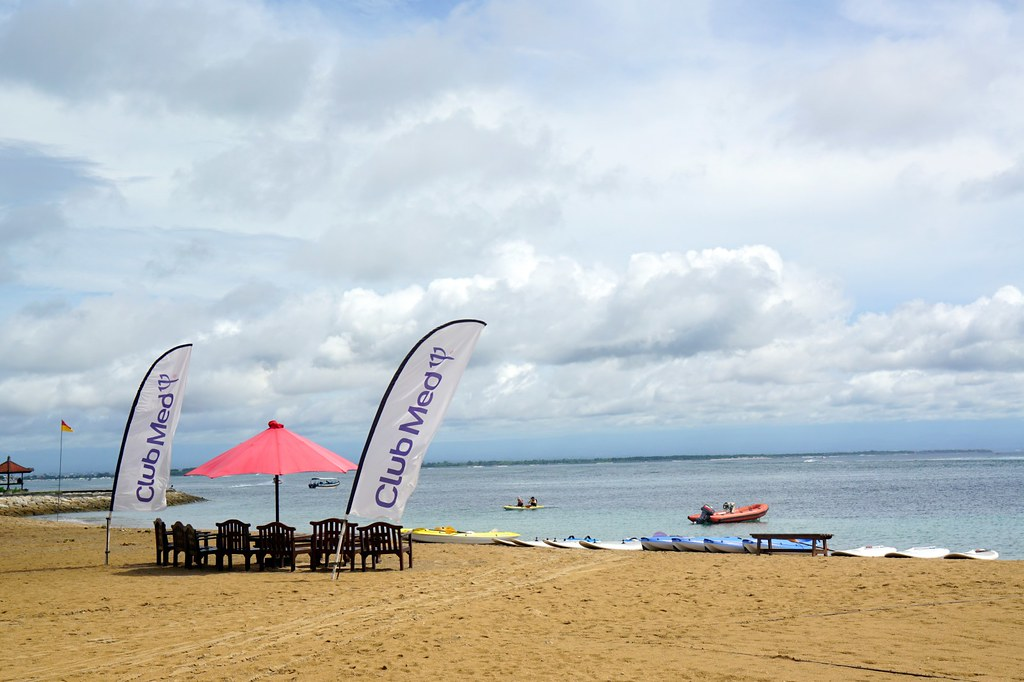 beach at club med bali