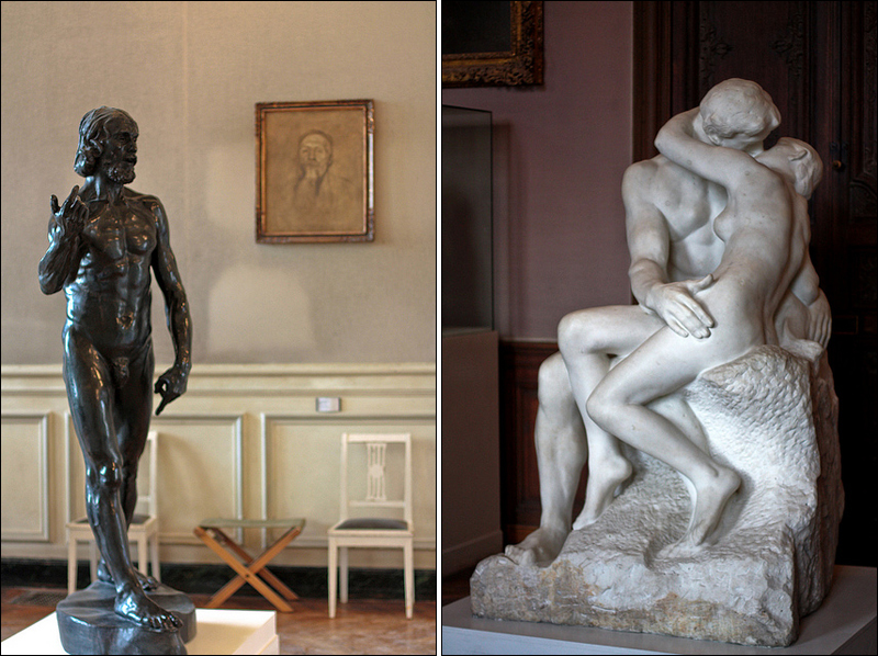 Inside Musee Rodin / Hotel Biron
