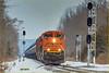 CSXT (train K042-19) - Belle Mead NJ
