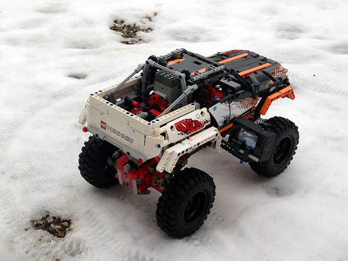 SBrick crawling on the snow