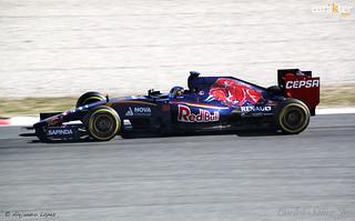 Carlos Sainz Jr. - Toro Rosso - Test pretemporada F1