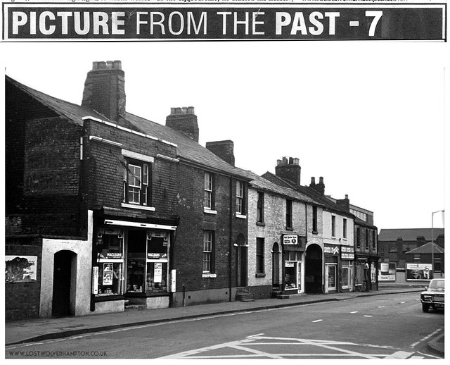Horseley Fields circa late 1950's - East Side - Mill Lane to Corn Hill