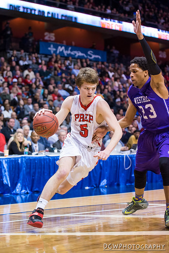 Fairfield Prep vs. Westhill High - CIAC Class LL Boys Basketball Finals