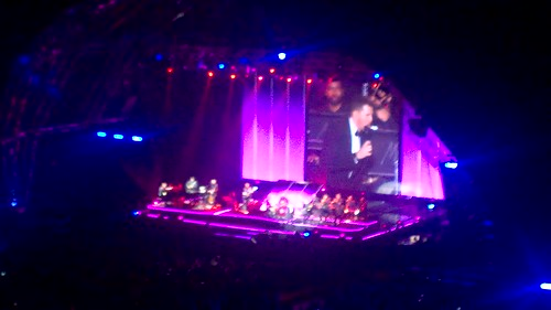 Michael Bublé performing Sway @ Cape Town Stadium, March 2015