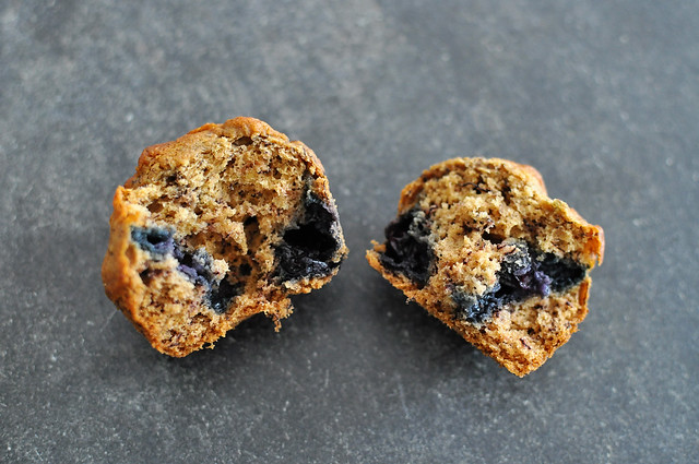 Blueberry Banana Muffin Split