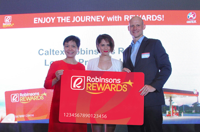robinsons rewards x caltex
