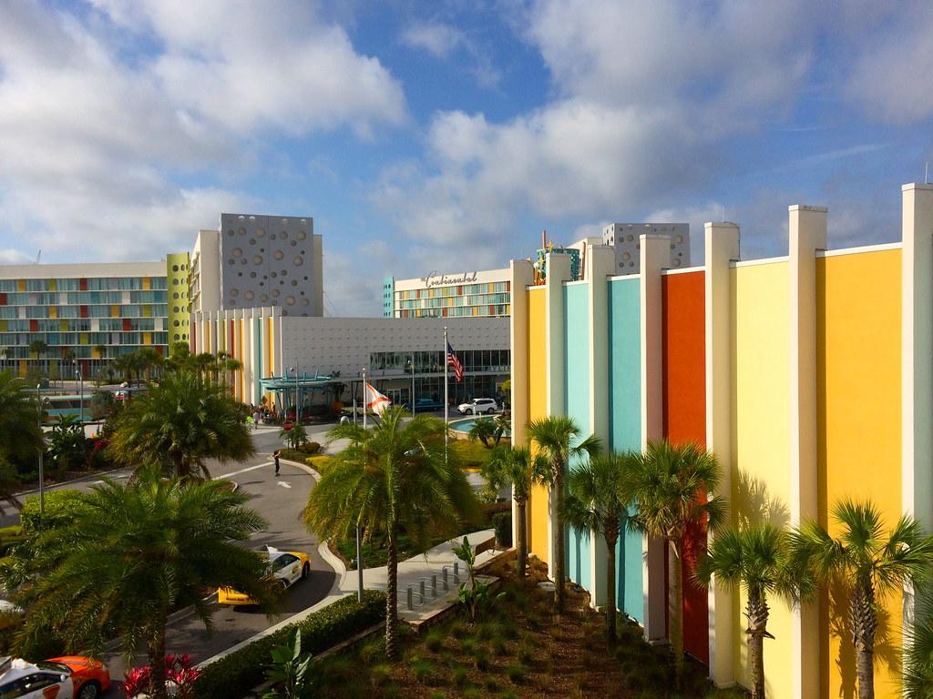 Mod Betty at Universal Studios Cabana Bay Orlando Florida 2016