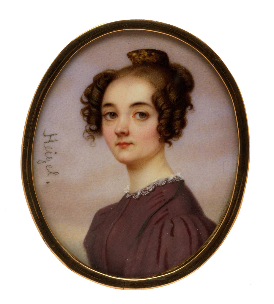 Lola Montez by Josef Heigel c. 1820