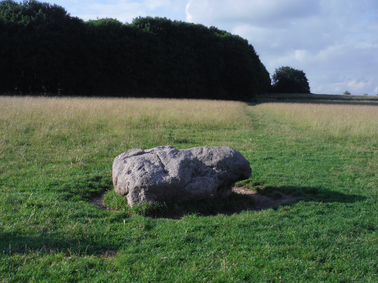 Cuckoo Stone, Durrington Walls SWC 67 Salisbury to Amesbury (via Stonehenge) Extension to Woodhenge and Durrington Walls