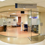 Entrance to Hurley Outpatient Clinc