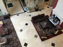 Homewood Suites Hotel Lobby - Salt Lake City Utah