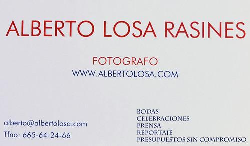 tarjeta alberto losa 2